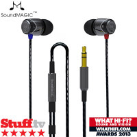 SoundMAGIC E10 In-Ear Headphones - Gunmetal