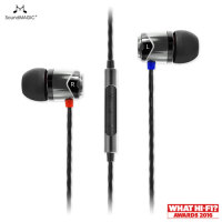 SoundMAGIC E10S In-Ear Headphones with Hands-Free - Gunmetal