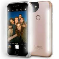 LuMee iPhone 6S Plus / 6 Plus Selfie Light Case -  Rose Gold