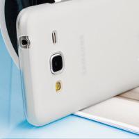 FlexiShield Samsung Galaxy J3 2016 Gel Case - Frost White