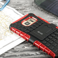 ArmourDillo Samsung Galaxy S7 Edge Protective Case - Rood