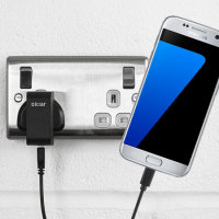 High Power Samsung Galaxy S7 Wall Charger & 1m Cable