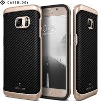 Caseology Galaxy S7 Envoy Series Skal - Kolfiber Svart