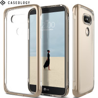 Caseology Skyfall Series LG G5 Case - Gold / Clear