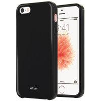 Olixar FlexiShield iPhone SE Gel Case - Black
