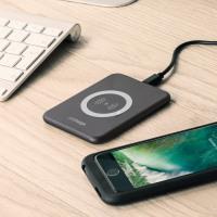 aircharge Slimline Qi Wireless Charging Pad - Black