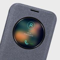 Housse Samsung Galaxy S7 Edge Nillkin Sparkle Big View Window - Noire
