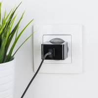 High Power 2.4A USB EU Wall Charger with Micro USB Cable