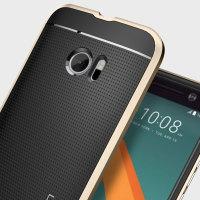 Spigen Neo Hybrid HTC 10 suojakotelo - Sampanja kulta