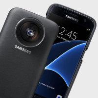 Officiële Samsung Galaxy S7 Lens Cover - Zwart