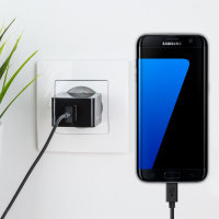 Olixar High Power 2.4A Samsung Galaxy S7 Edge Wall Charger - EU Mains
