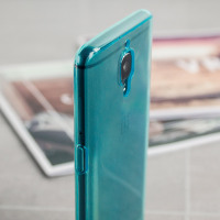 Olixar FlexiShield OnePlus 3T / 3 Gel Case - Blauw