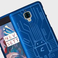 Cruzerlite Bugdroid Circuit OnePlus 3 Case - Blue