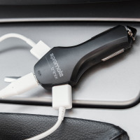 Promate 8.4A Triple Port Fast Car Charger