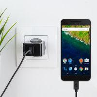 Olixar High Power 2.4A Google Nexus 6P Europa Lichtnet Oplader