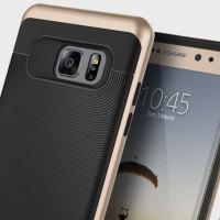 Caseology Wavelength Series Samsung Galaxy Note 7 Case - Black / Gold