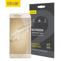 Olixar Huawei Honor 8 Skärmskydd - Tvåpack