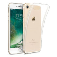 Crystal Ultra-Thin iPhone 7 Gel Case - 100% Clear