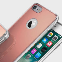 Rearth Ringke Fusion Mirror iPhone 8 / 7 Case - Rose Gold