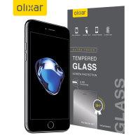Protection d'écran en Verre Trempé iPhone 7 Plus Olixar