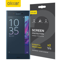 Olixar Sony Xperia XZ Screen Protector 2-in-1 Pack