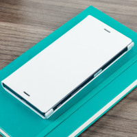 Housse Officielle Sony Xperia XZ – Blanche
