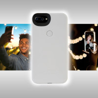 LuMee Two iPhone 7 Plus / 6S Plus / 6 Plus Selfie Light Case - White