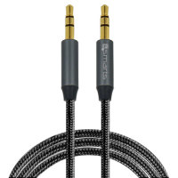 4smarts SoundCord 3.5mm to 3.5mm Premium Aux Audio Cable - 1m