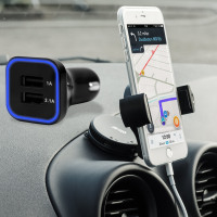 Olixar DriveTime iPhone 7 Plus Car Holder   Charger Pack 65352f829e7a