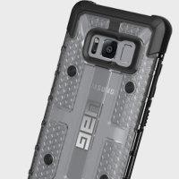 UAG Plasma Samsung Galaxy S8 Protective Deksel - Is / Sort