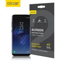 Protector de Pantalla Samsung Galaxy S8 Olixar - Pack 2