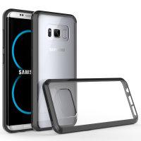 Olixar ExoShield Tough Snap-on Samsung Galaxy S8 Case - Black / Clear