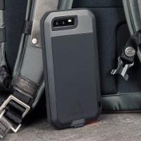 Love Mei Powerful Huawei P10 Protective Skal - Svart