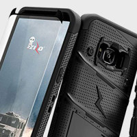 Zizo Bolt Series Samsung Galaxy S8 Skal & bältesklämma Svart