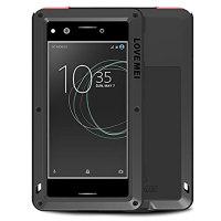 Love Mei Powerful Sony Xperia XZ Premium Protective Case - Black