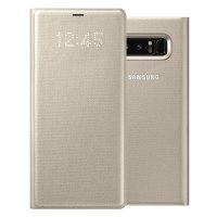 Offizielles Samsung Galaxy Note S8 LED Sicht Abdeckungs Hülle - Gold