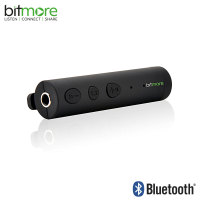 Bitmore Audio Buddy Wireless Bluetooth 3.5mm Headphone Adapter