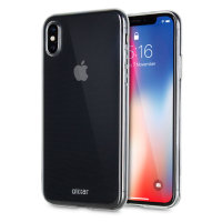 iPhone X Clear Case - Ultra Thin Gel - Olixar 100% Clear