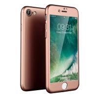 Coque iPhone 8 Olixar X-Trio Full Cover Avant et Arrière - Or Rose