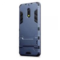 Olixar Nokia 6 Dual Layer Armour Case & Kickstand - Blue