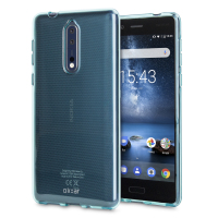 Funda Nokia 8 Olixar FlexiShield Gel - Azul
