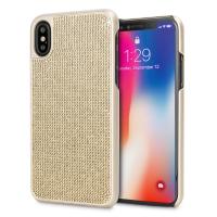 LoveCases iPhone X Gel Case - Luxury Crystal