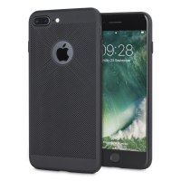 Coque iPhone 7 Plus Olixar MeshTex – Noir tactique