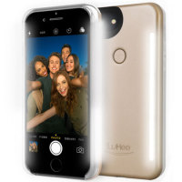 LuMee Duo iPhone 8 Double-Sided Selfie ljus - Guld