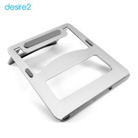 Desire2 Anywhere Portable Laptop Riser Stand - Silver