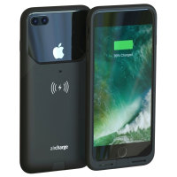 aircharge MFi Qi iPhone 7 Plus Wireless Charging Case - Black