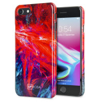 Uprosa Slim Line iPhone 8 / 7 Case - Fractal Flame