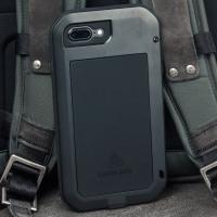 Love Mei Powerful iPhone 8 Plus Protective Case - Black