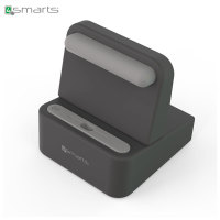 4smarts WireDock Universal Charge Station & Smartphone Dock - Grey