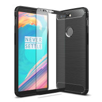 Olixar Sentinel OnePlus 5T Case and Glass Screen Protector